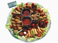 wedding food platters