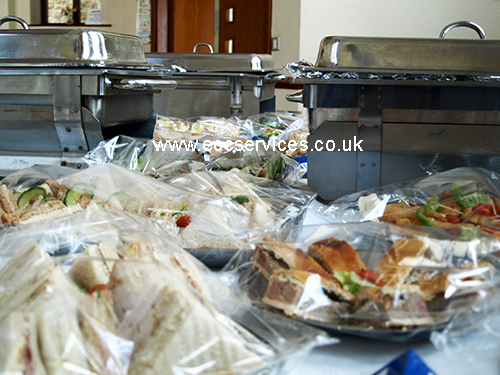Funeral catering services