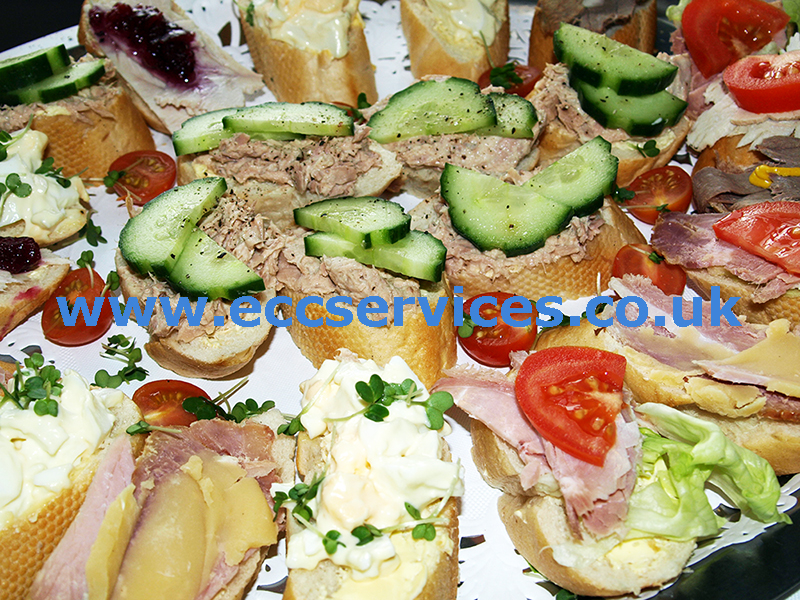 large photo of our open Danish sandwiches